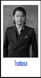 "(c)burnthefloor Tsubasa's profile pic from Burn the Floor's website where he is listed as a ""Cast Alumni"""